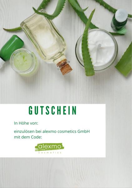 Gift voucher aloe-vera  (Geschenkgutschein Aloe-Vera)