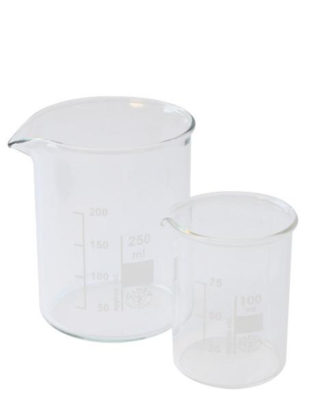 Beaker glass, low form 100ml, (Becherglas niedrige Form 100ml)