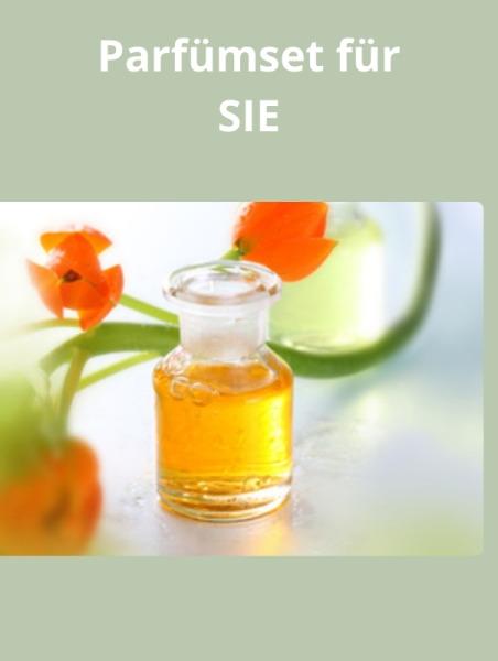 Perfume set for her (Parfümset für SIE)