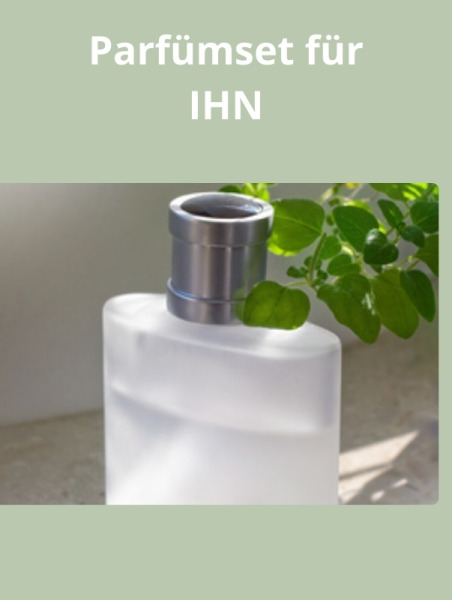 Perfume set for him   (Parfümset für IHN)