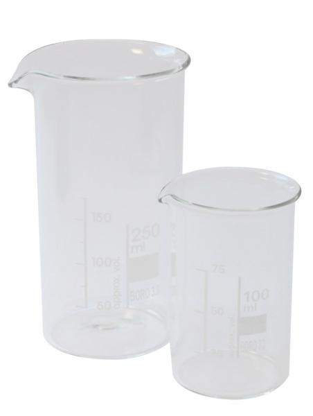 Beaker glass, high form 250ml (Becherglas, hohe Form, 250ml)