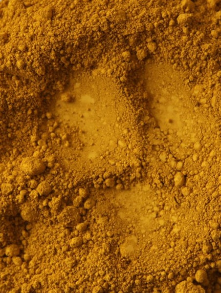 iron oxide yellow (Pigment gelb)