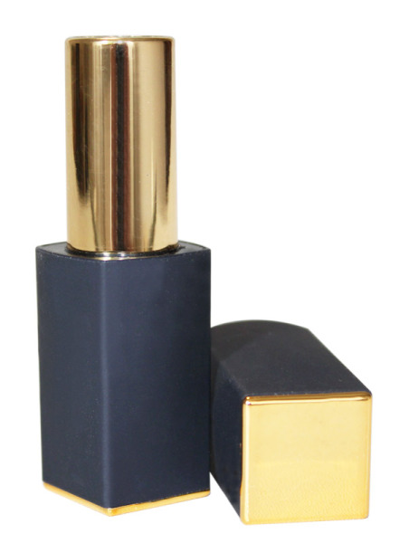 Lipstick tube, velvet black (Lippenstifthülse, velvet black)