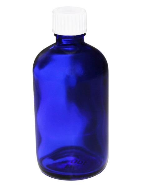 Blauglasflasche