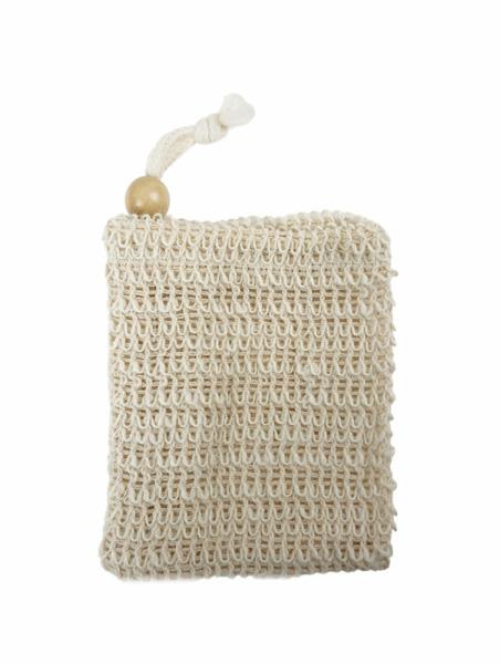 sisal bag   (Sisal-Seifensäckchen)