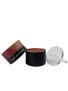 Lipstick tubes, mat black (Lippenstifthülse, schwarz- matt)